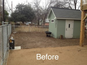 Charleston Landscaper Yard Makeover Before 3