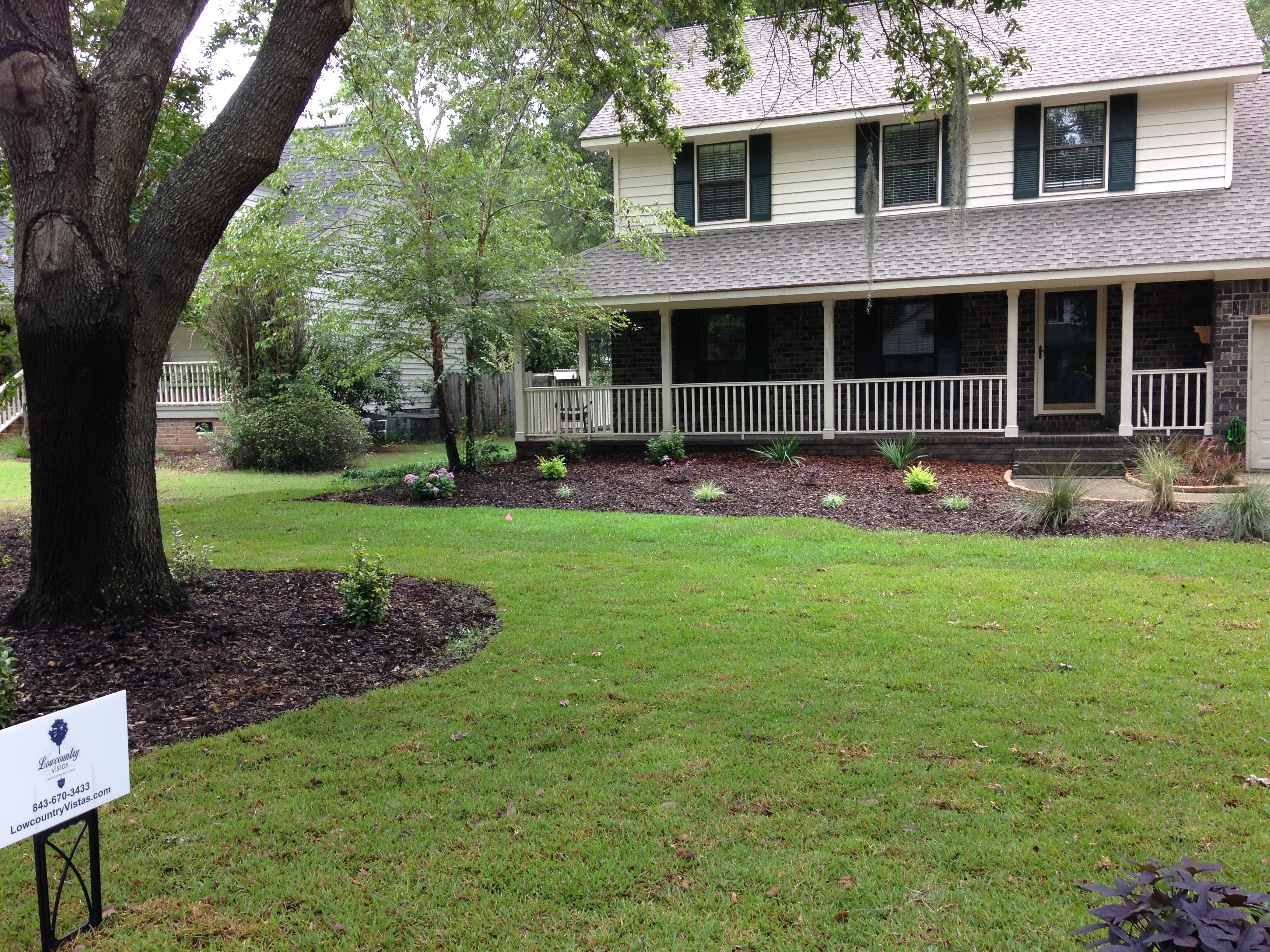 Charleston Residential Landscape Design - Yard Makeover After 2