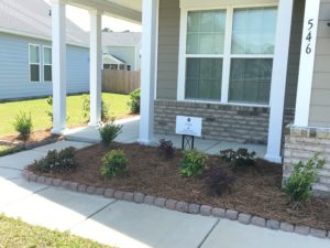 Charleston Residential Landscape Design After New Home