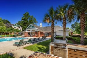 Charleston SC Landscape Design Pool Area
