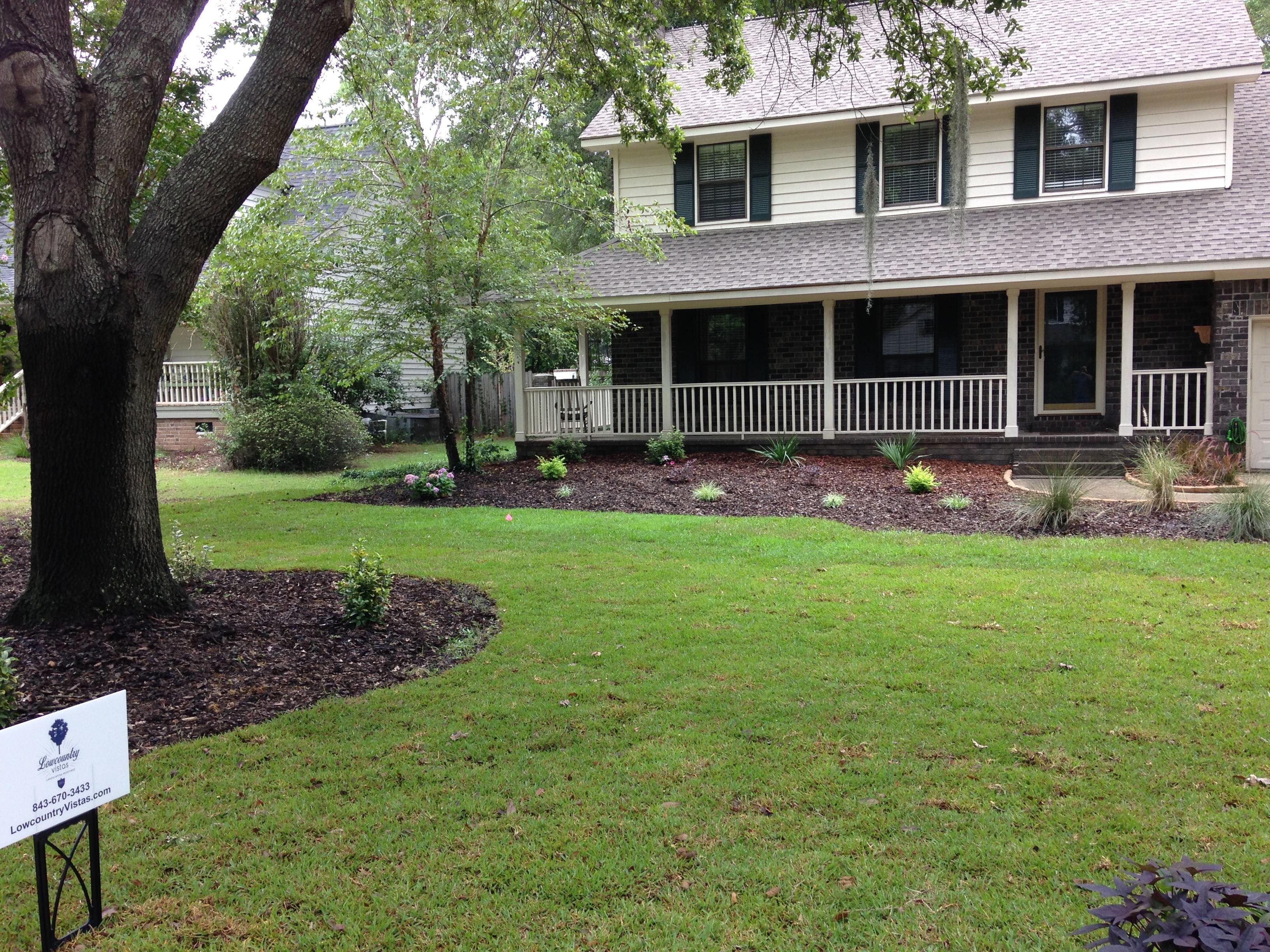Charleston Residential Landscape Design - Yard Makeover After 2