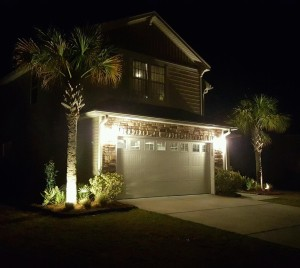 Charleston Residential Landscape Design Lights A