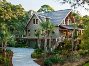 Charleston SC Landscape Design Beach House