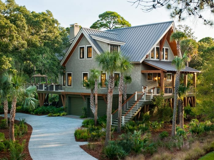 Charleston SC Landscape Design Beach House